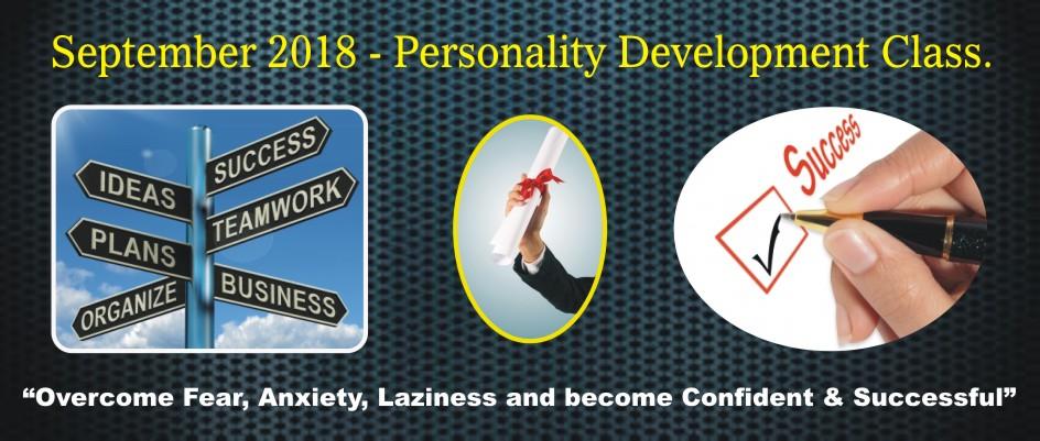5. PERSONALITY DEVELOPMENT – SEPTEMBER 2018
