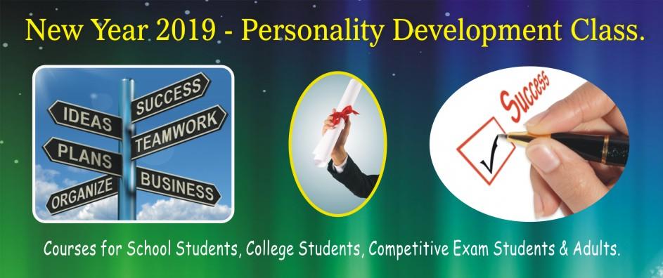 5. PERSONALITY DEVELOPMENT – JANUARY 2019