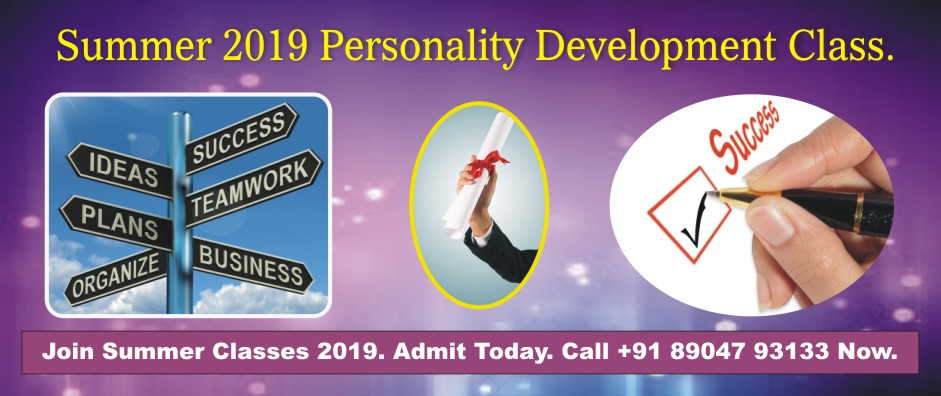 5. PERSONALITY DEVELOPMENT – APRIL 2019