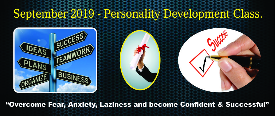 5. PERSONALITY DEVELOPMENT – SEPTEMBER 2019