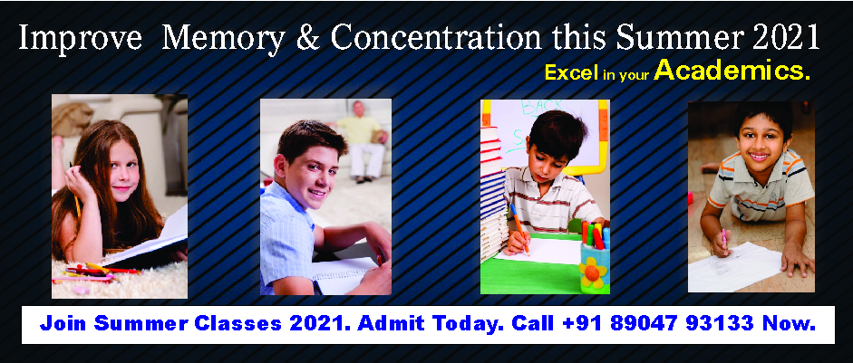 4. MEMORY AND CONCENTRATION – APRIL AND MAY 2021
