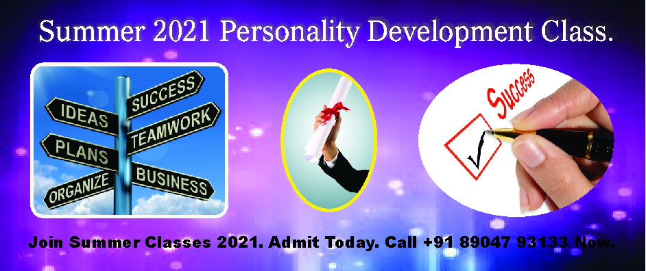 5. PERSONALITY DEVELOPMENT – APRIL AND MAY 2021